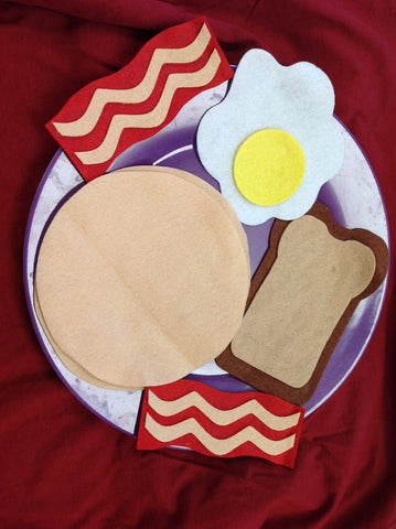 Felt Breakfast Foods