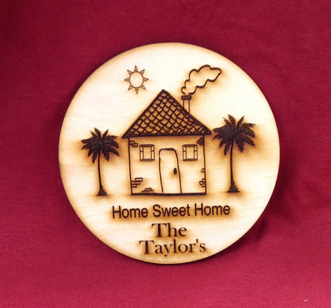 Home Sweet Home Coaster- Set of 4