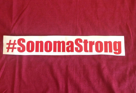 # Sonoma Strong Decal
