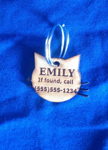 Cat Collar Tag
