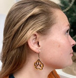 Cougar Paw Earrings