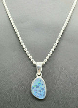 Load image into Gallery viewer, Sterling Silver Chain, 46 cm, 18 inches, Beaded Chain, Ball Chain
