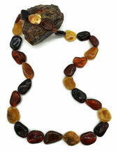 Load image into Gallery viewer, Baltic Amber Necklace, Massive Amber Necklace, 78cm, Fossilized Tree Resin - GemzAustralia