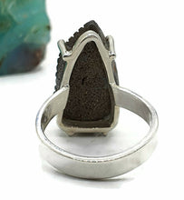 Load image into Gallery viewer, Boulder Opal Ring, Size 6.5, Carved Opal, Solid Opal, Australian Opal, Sterling Silver - GemzAustralia