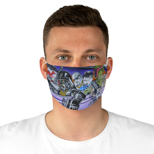 'Dark Side Locos' Face Mask