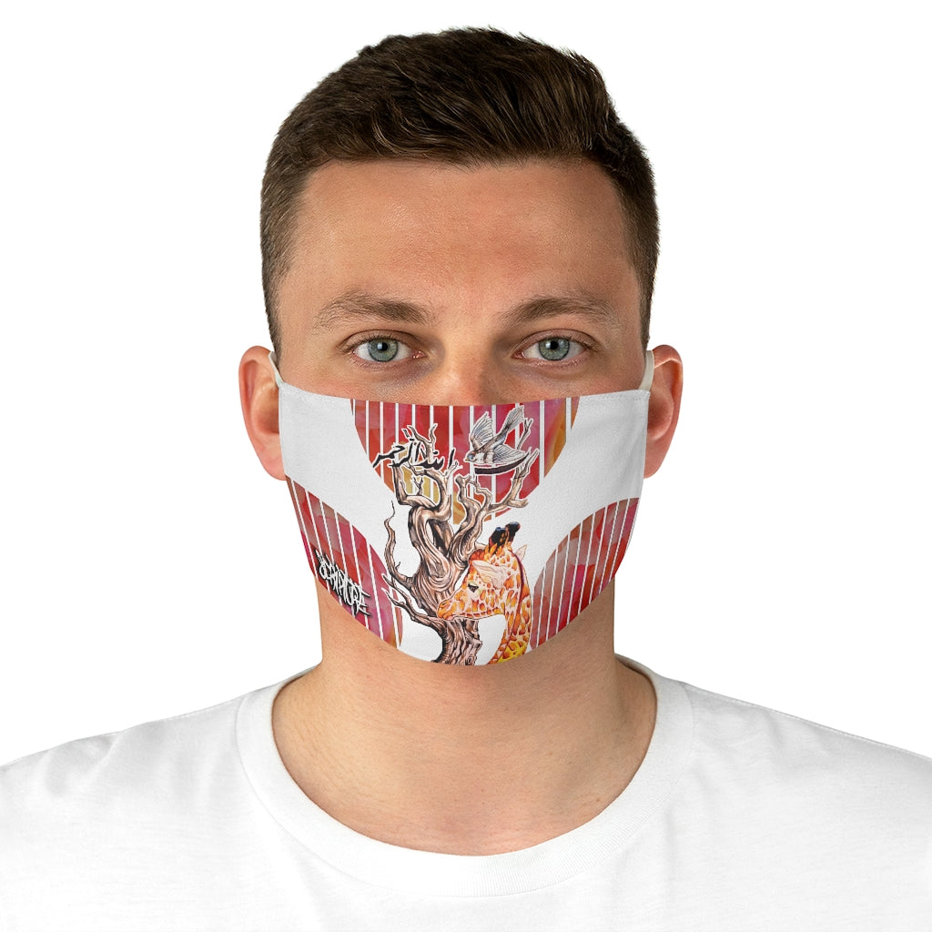 (NEW)Giraffe Face Mask