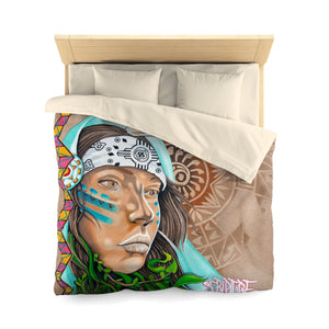 Native-Microfiber Duvet Cover