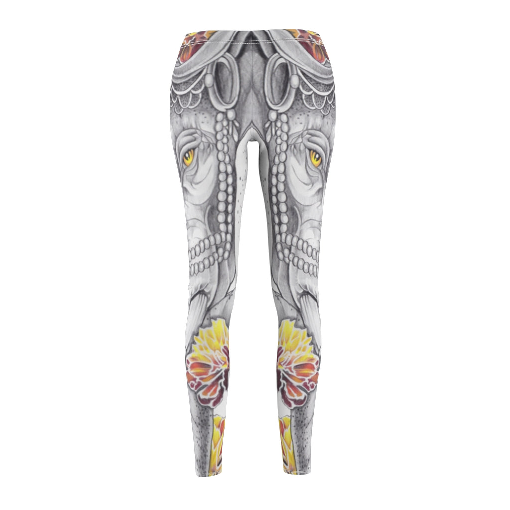 Women's Elephant Tattoo Leggings