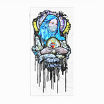 'Mama Mary'  Beach Towel