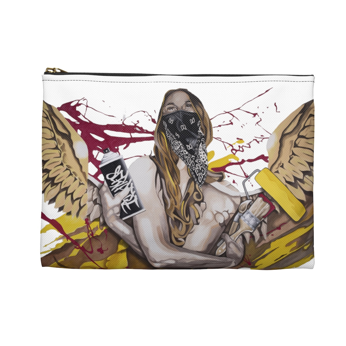 Spray Can Angel-Accessory Pouch