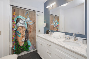 Native-Shower Curtain