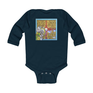 'Zia Rabbit' Infant Bodysuit