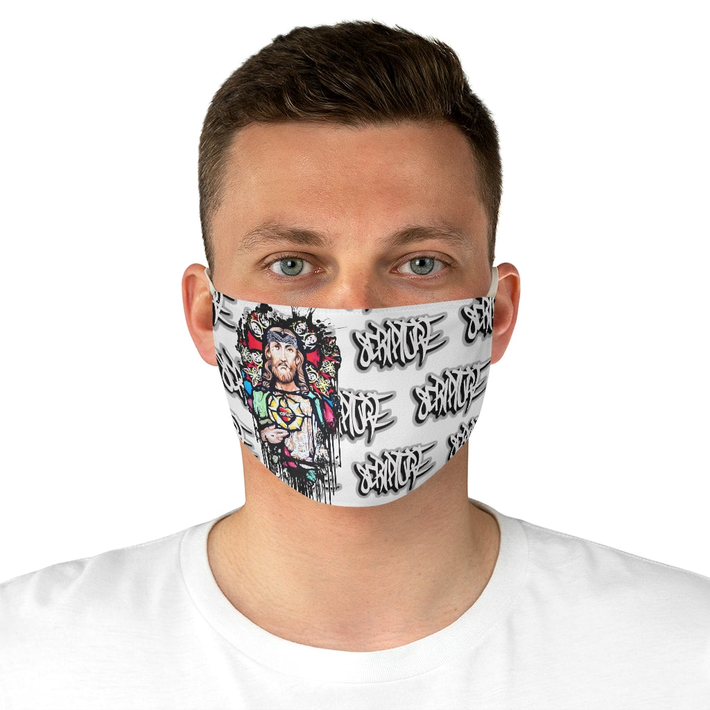 J. Christo Fabric Face Mask