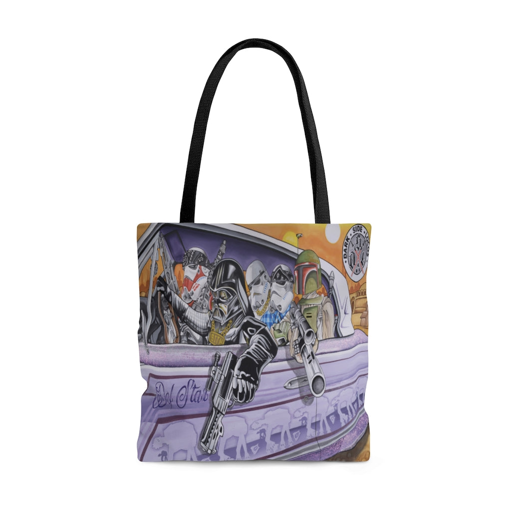 Dark Side Locos Tote Bag