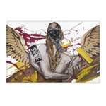 Graffiti Angel-area rug