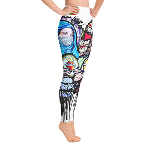 Sacred Yoga Pants-White