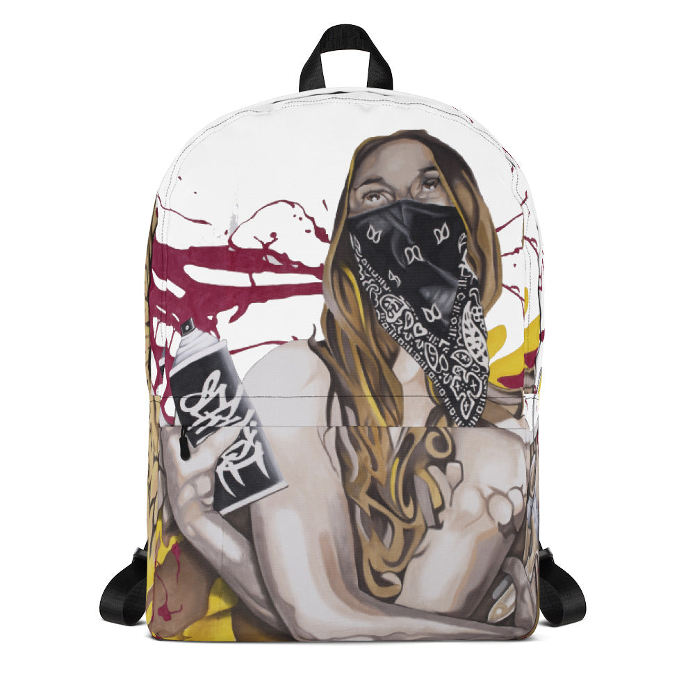 Spray Can Angel Backpack