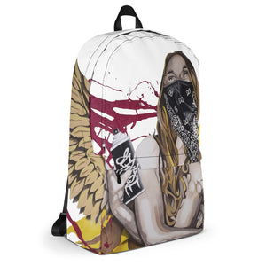 Graffiti Angel Backpack