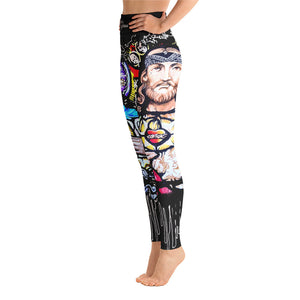 Sacred Yoga Pants-Black