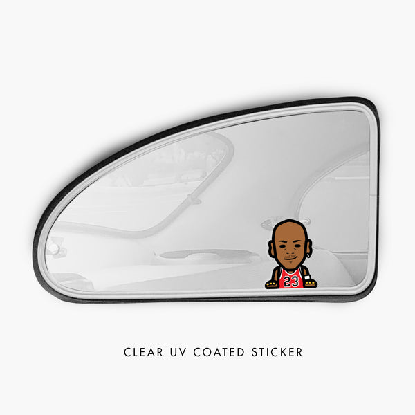 Bulls—Sticker—Clear
