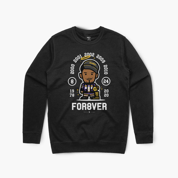 For8ver—Crewsweater—Blk