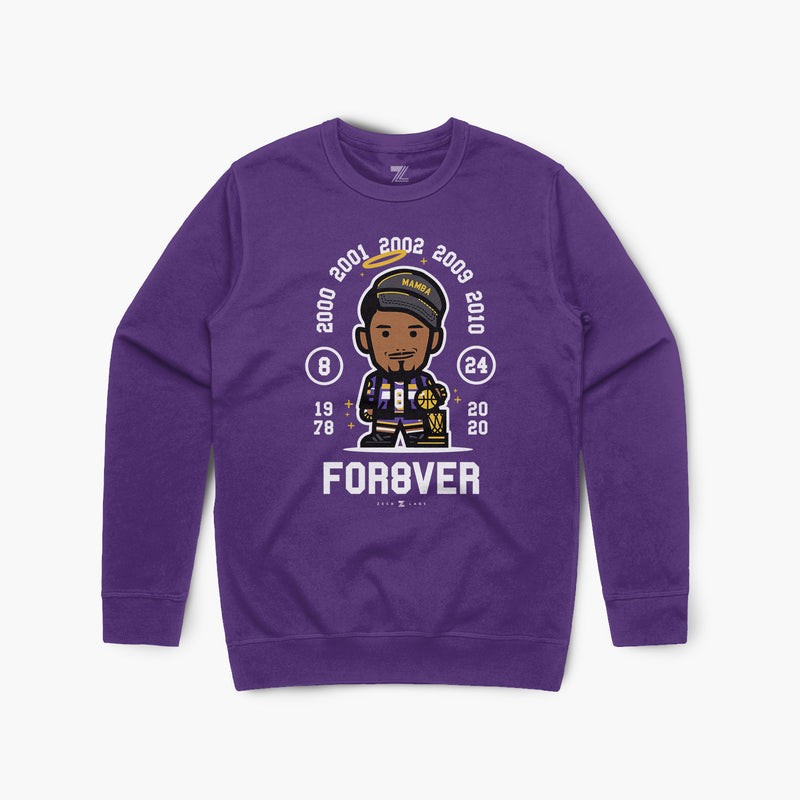 For8ver—Crewsweater—Purple