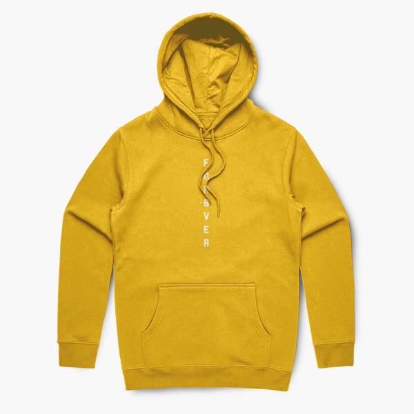 For8ver—Hoodie—Yellow
