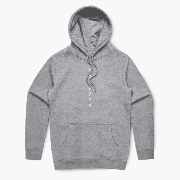 For8ver—Hoodie—Heather Grey
