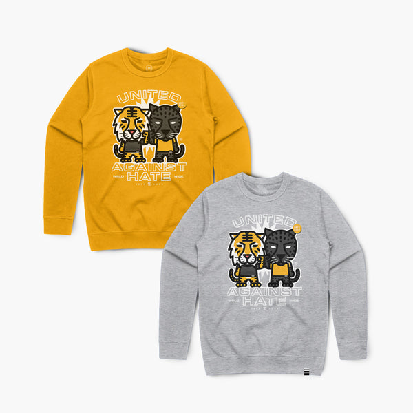 United—Crewsweater—Gold
