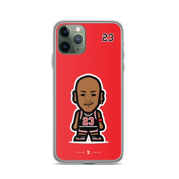 Bulls—iPhone Case—Red