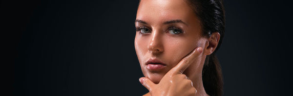 This is an image for the article on how to build skincare routine AM and PM for oily and acne prone skin.