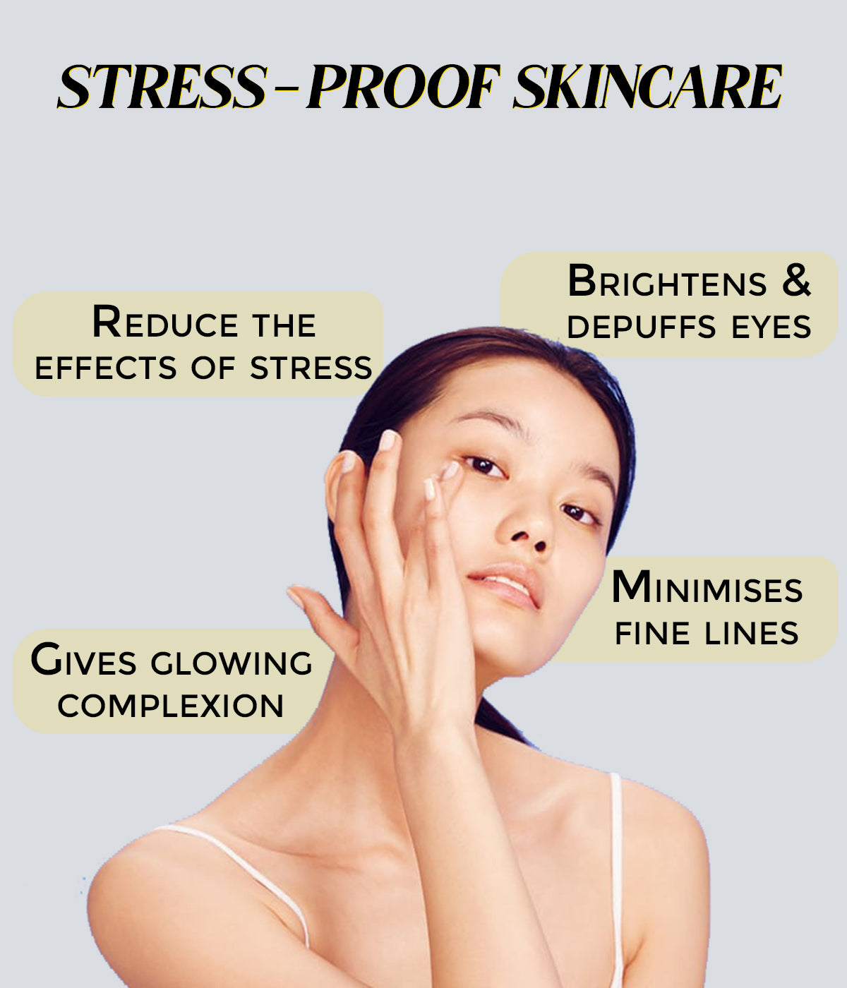 This is an image of stress proof skincare being a skincare trend in 2021