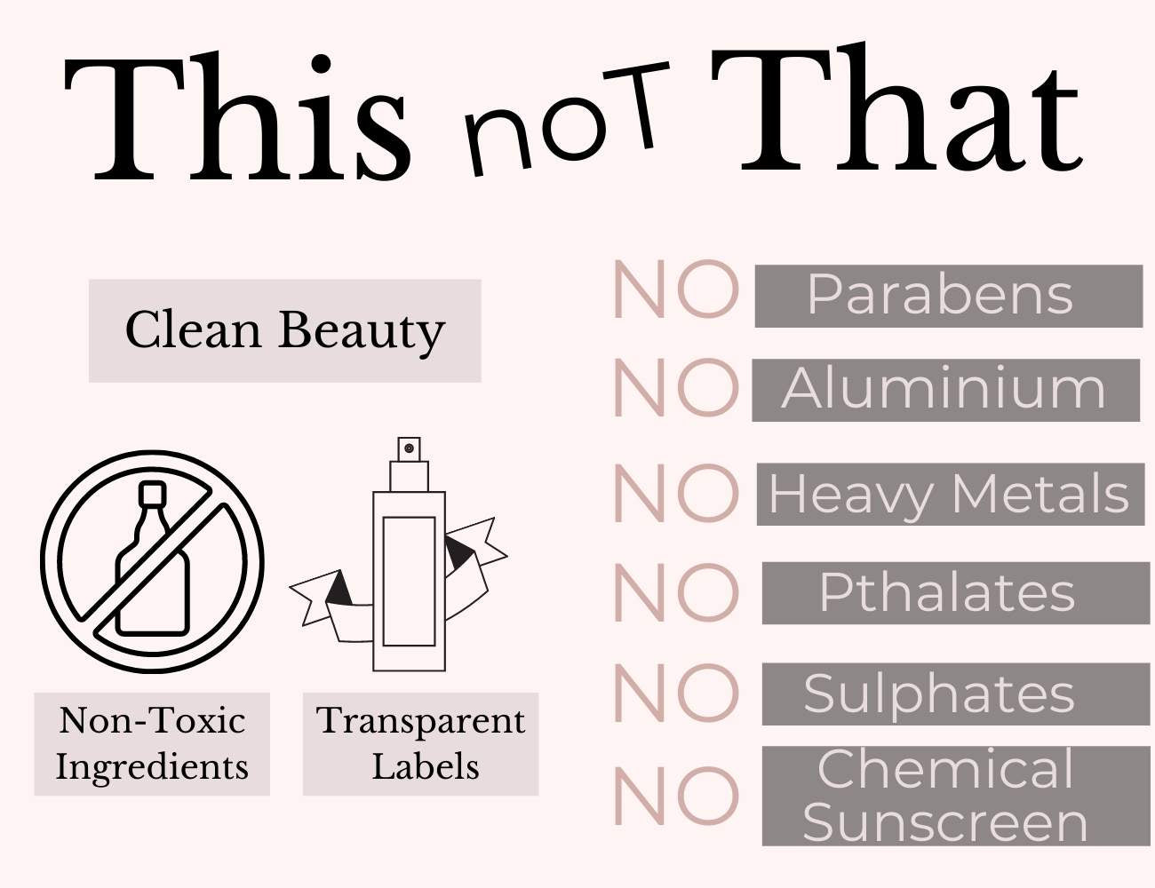 This is an image of toxins to be avoided in your beauty & personal care products