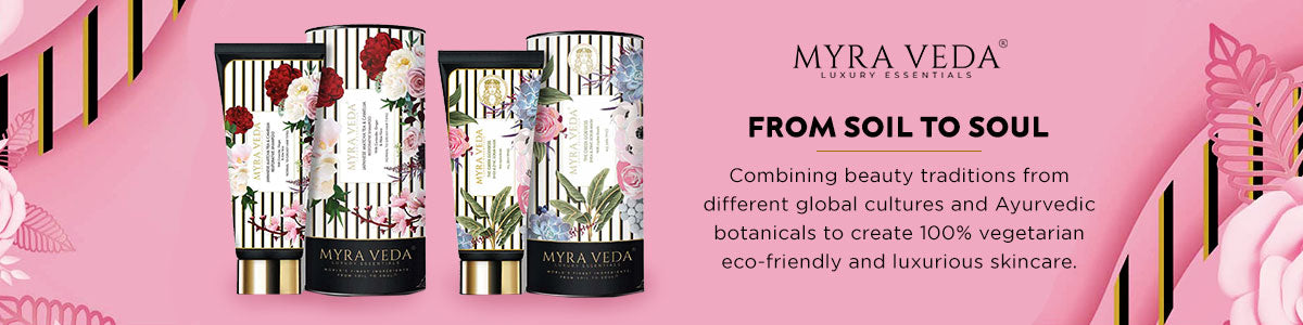 Shop for zero waste and cruelty-free skincare from Myra Veda on SublimeLife.in.