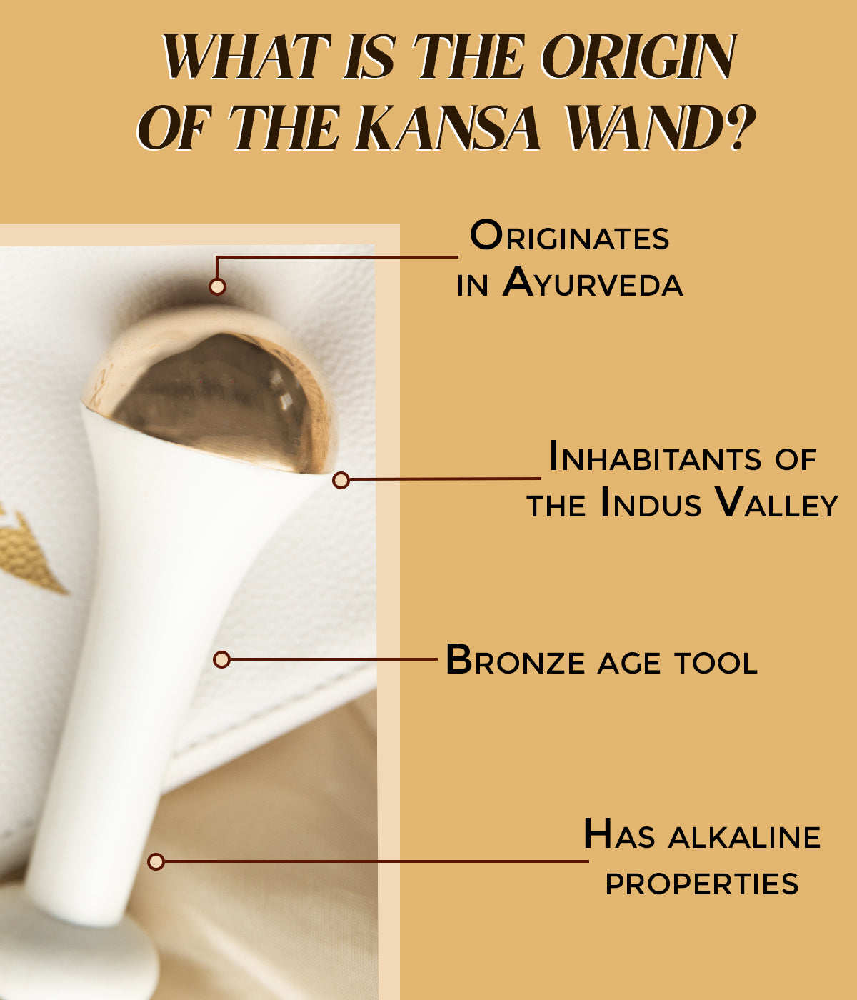 This is an image about the origins of the Kansa Wand, available on www.sublimelife.in