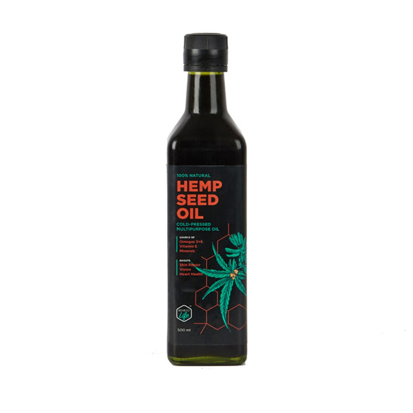 This is an image of Boheco Life Hemp Seed Oil on www.sublimelife.in
