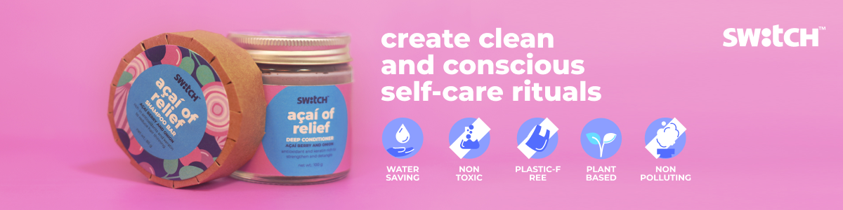 Shop best conscious and clean personal care products from The Switch Fix at best prices on SublimeLife.in.