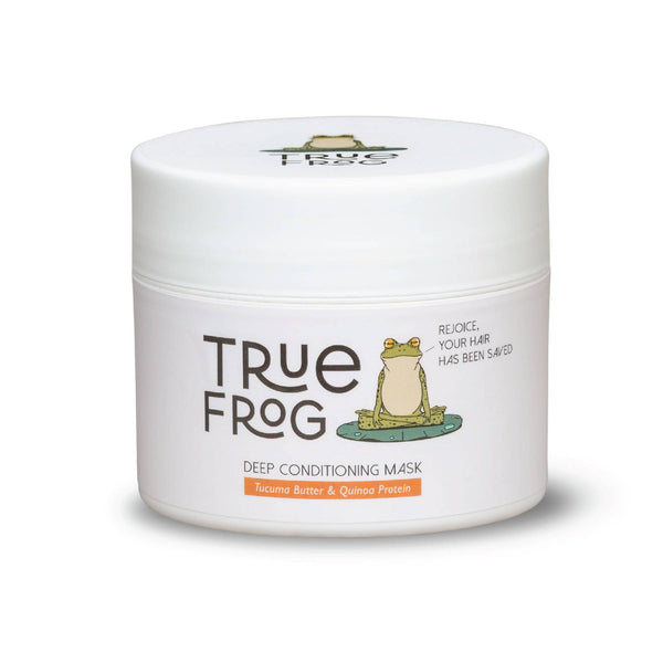 This is an image of True Frog Deep Conditioning Mask on www.sublimelife.in