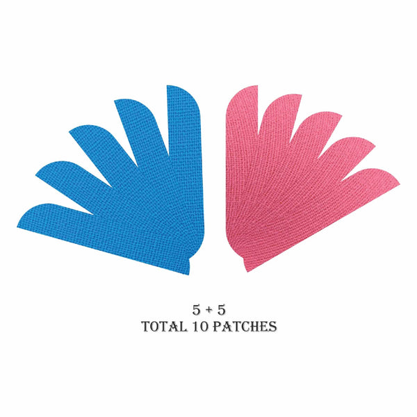 This is an image of House of Beauty Overnight Anti-Wrinkle Patches on www.sublimelife.in