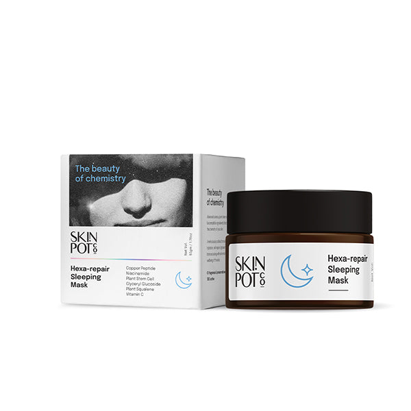 This is an image of Skinpot.Co Hexa-Repair Sleeping Mask  on www.sublimelife.in