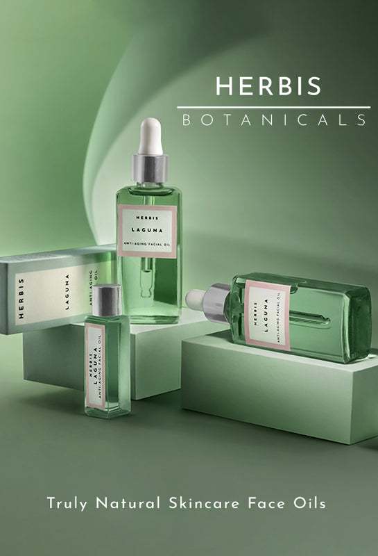 Shop for natural skincare face oils from Herbis Botanicals on SublimeLife.in