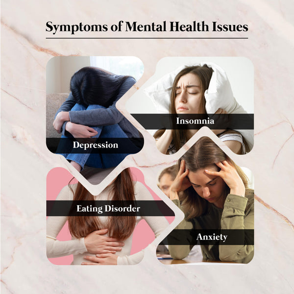 This is an image of Symptoms of Mental Health Issues on www.sublimelife.in