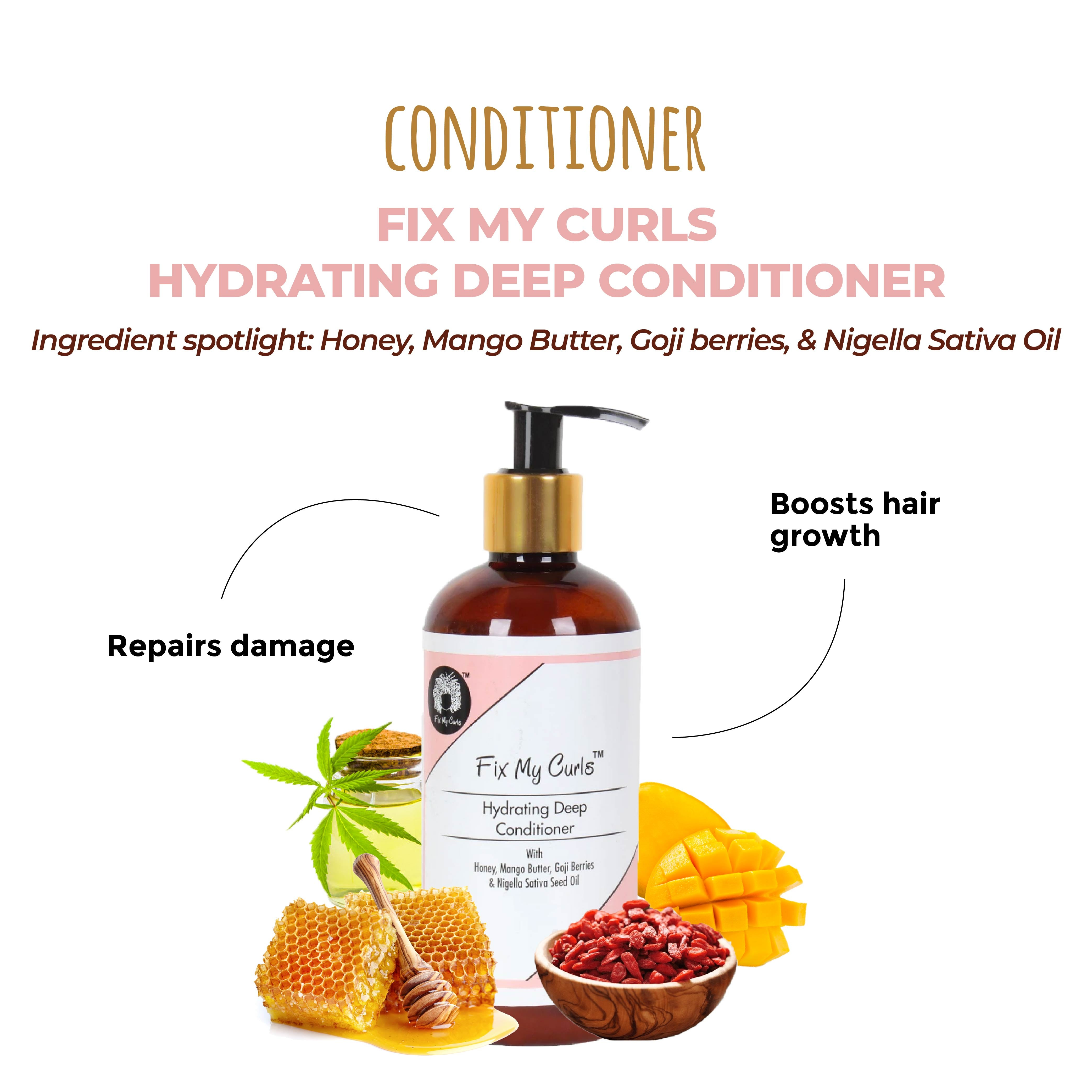 This is a link to the Fix My Curls Deep Hydrating Conditioner on www.sublimelife.in