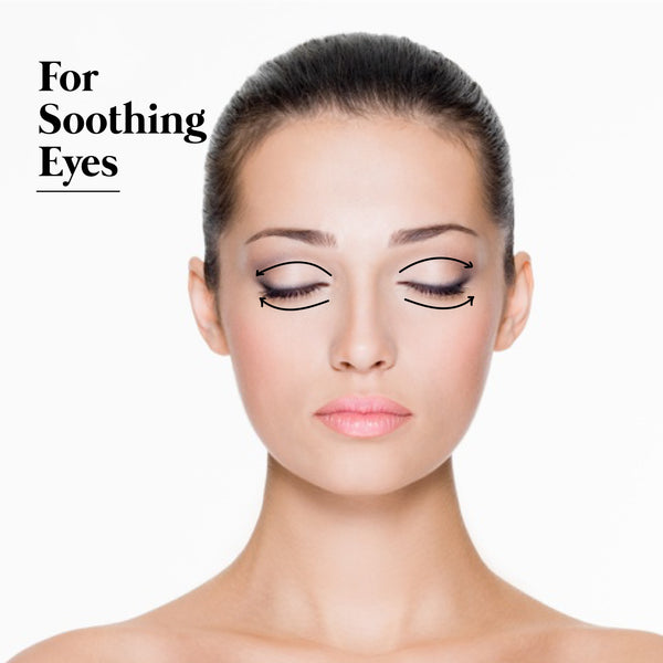 This is an image of How to use Kansa Wand for Soothing Eyes on www.sublimelife.in