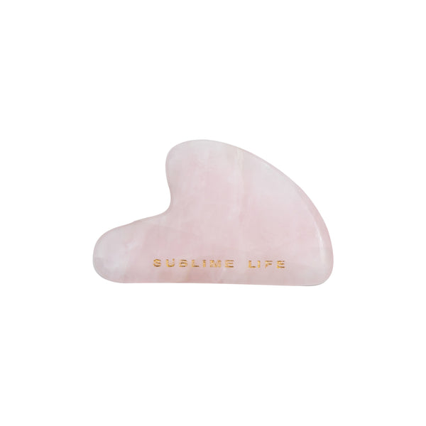 This is an image of Sublime Life Jade Gua Sha on www.sublimelife.in