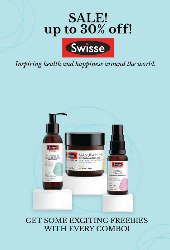 Shop Australian based skincare products from Swisse at best prices on SublimeLife.in