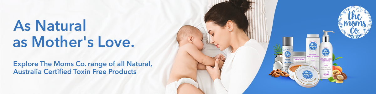 Shop the Australian certified natural skincare products safe for baby and mother from The Mom's Co on SublimeLife.in.