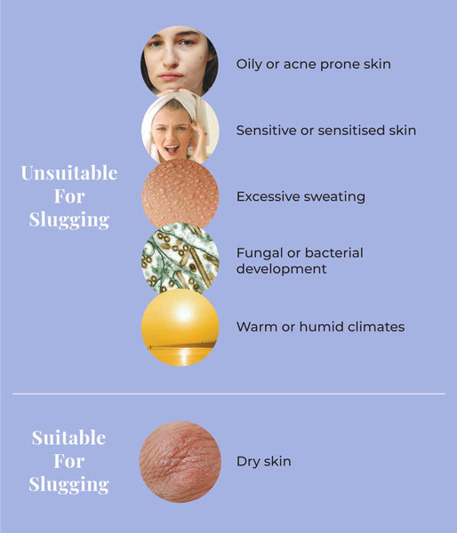 This is an image of Skin Slugging : Who is it suitable for and who should avoid it on www.sublimelife.in