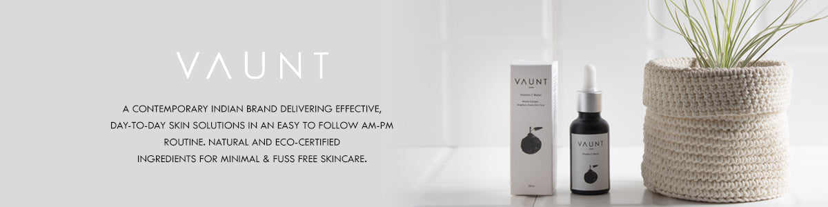 Shop for effective, everyday skincare basics from Vaunt on SublimeLife.in.