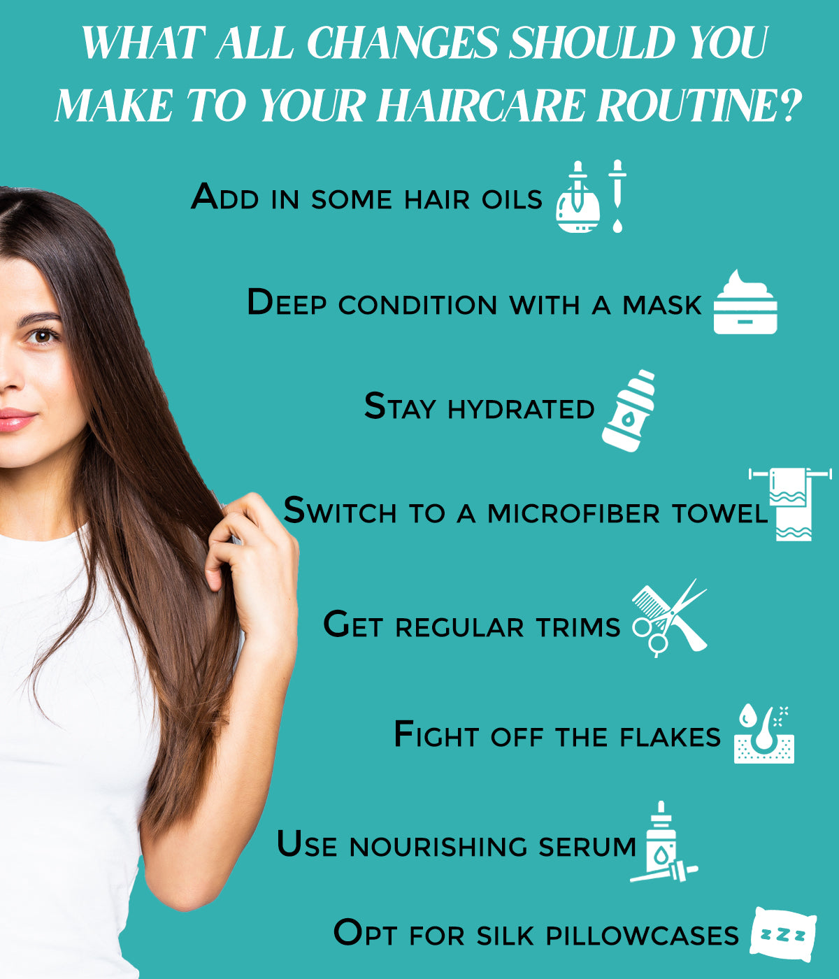 This is an image of changes you need to make in your winter routine
